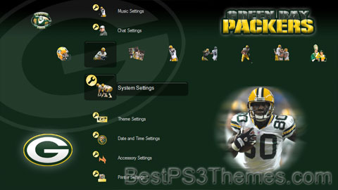 2007 Green Bay Packers Theme (3 backgrounds, HD only)