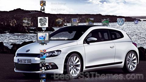 2008 Volkswagen Scirocco Theme