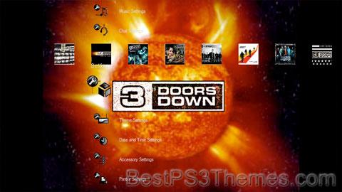 3 Doors Down Theme