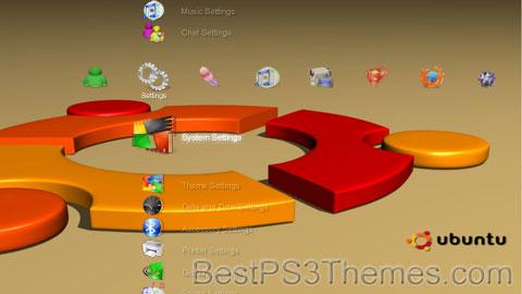 3D PS3 01 Theme