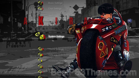AKIRA HD Theme preview