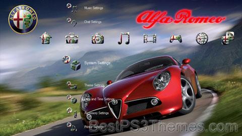 Alfa Romeo 8c Theme