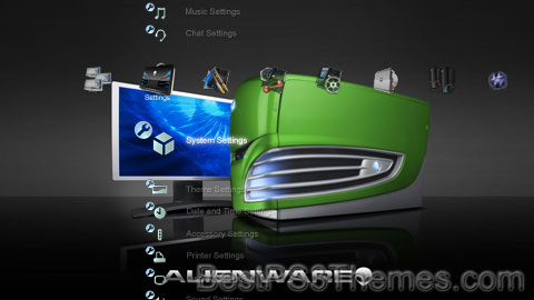 Alienware PS3 Theme 2
