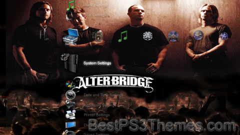 Alter Bridge 1.00 Theme