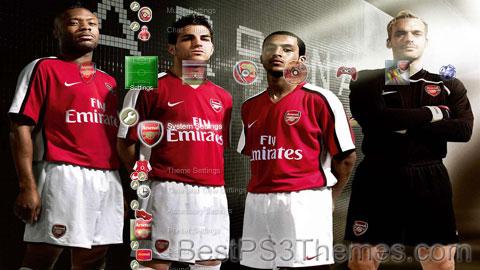 Arsenal Football Club V2 Theme