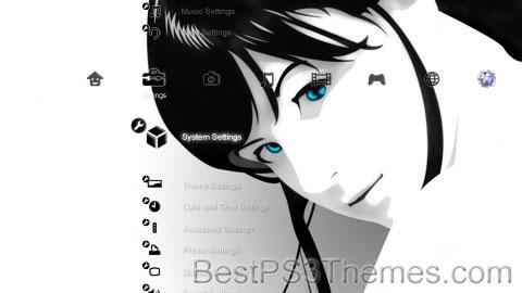 The Art of Black & White Theme
