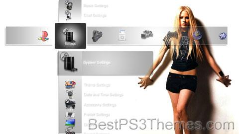 Avril Lavigne Theme 5