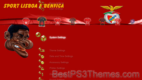 Benfica Theme Preview
