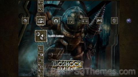 Bioshock w/ New Icons + Sound V1.1 Theme
