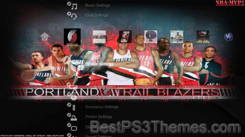 Blazers Theme Preview