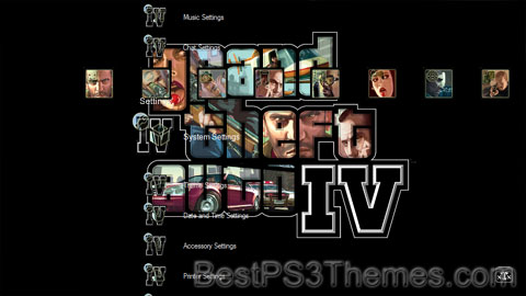 BloodSpillXXT - GTA IV Theme