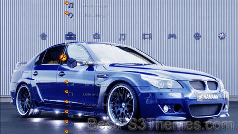 Blue BMW Theme