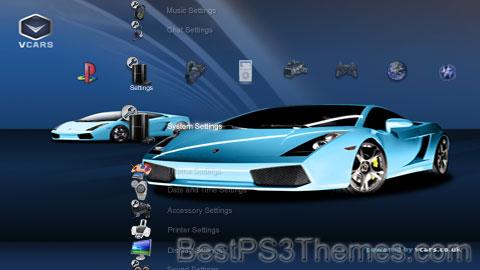 Blue Cars Theme