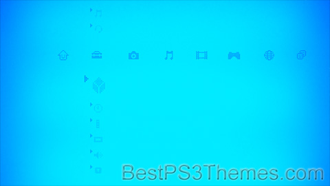 Blue Pixels Theme