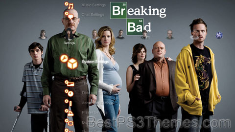 Breaking Bad 1.5 Theme Preview