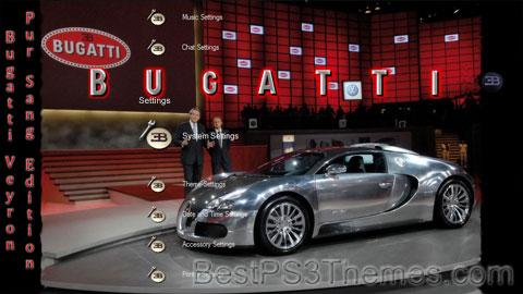 Bugatti Veyron Theme 2