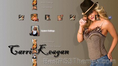 Carrie Keagan by DK Theme