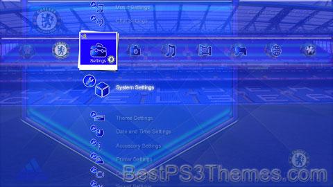 Chelsea FC PS3 Theme