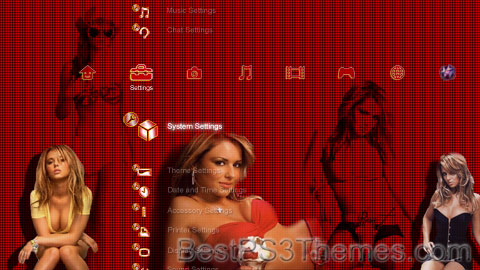 Cheryl (Tweedy) Cole Theme