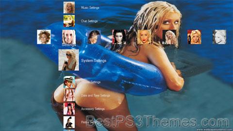 Christina Aguilera Theme 2