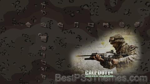 Call of Duty 4 Desert Theme