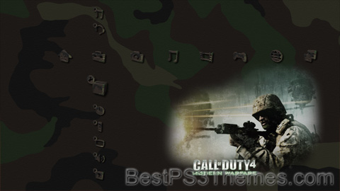 Call Of Duty 4 Woodland Theme