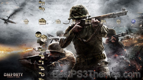 Call of Duty World At War Theme 3