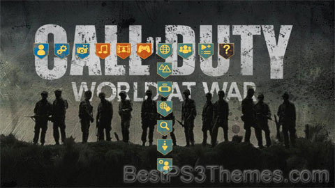 COD World At War Theme
