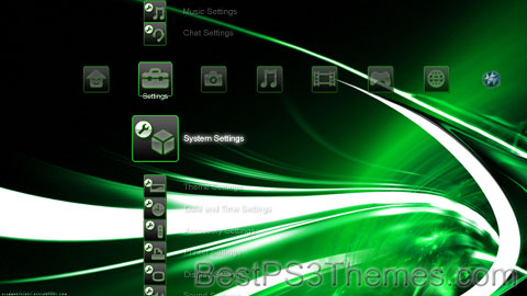 Contemporary Green Theme