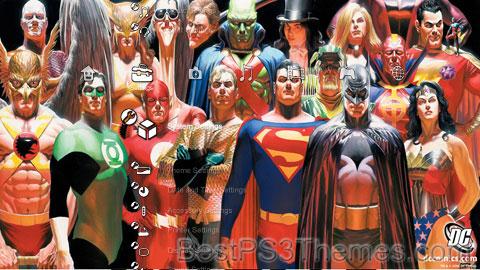 DC Comics All Stars II Theme
