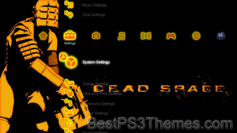 Dead Space Orange Theme