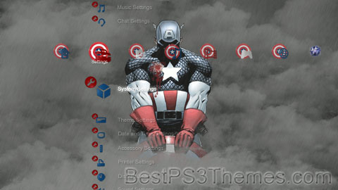 Death of Captain America Theme