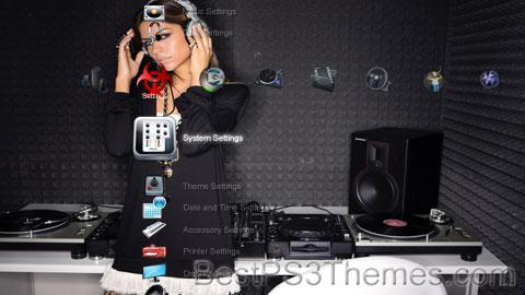 DJ Diamond DJ Miss Lisa & Other Female DJs Theme Preview
