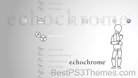 echochrome White Theme
