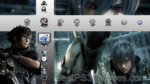 Fabula Nova Crystallis v2.5 Theme Preview