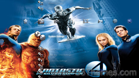 Fantastic 4: Rise of the Silver Surfer Theme