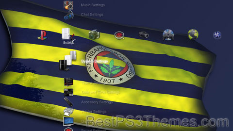 Girl  on Fenerbahce Sk 1903   Best Ps3 Themes