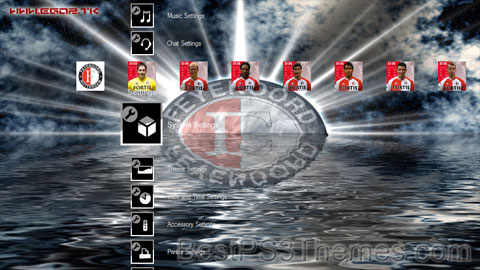 Feyenoord rotterdam best ps3 themes for Jet cars rotterdam opgelicht