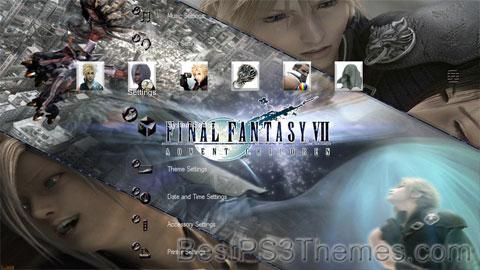 Final Fantasy VII Advent Children (Custom Sounds) Theme