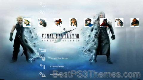 Final Fantasy VII Theme 7