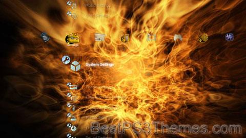 Flames Theme