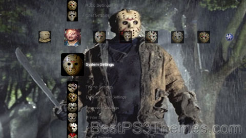 Friday The 13th Masks Theme