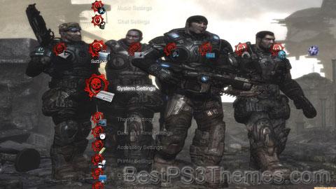Gears of War Theme 3