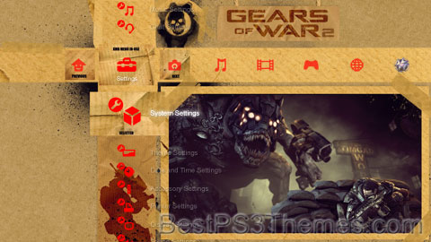 Gears of War Documents Theme