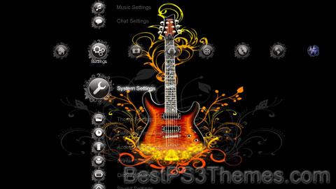 Girl Rock Guitar Theme