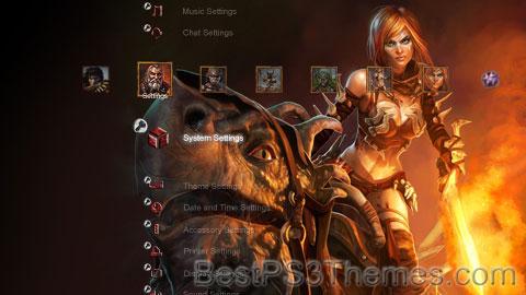 Golden Axe Beast Rider Theme