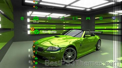 Green BMW Theme