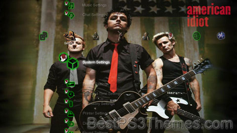 Green Day v1.1 Theme