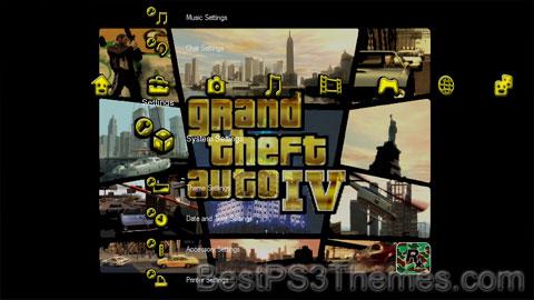 Grand Theft Auto IV Noir/Black Theme