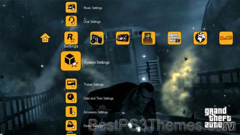 Grand Theft Auto IV (Yellow) Theme